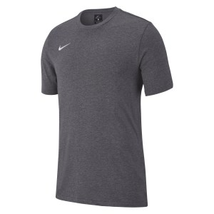 Nike Team Club 19 Tee Charcoal Heathr-Charcoal Heathr-White