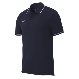 Nike Team Club 19 Polo Obsidian-White