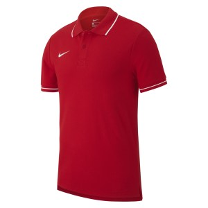 Nike Team Club 19 Polo University Red-White