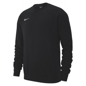 Nike Team Club 19 Crew Sweatshirt Black-White