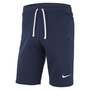 Nike Team Club 19 Short Obsidian-Obsidian-White-White
