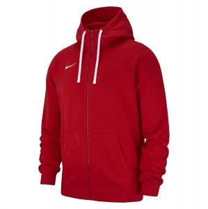 Nike Team Club 19 Full Zip Hoodie University Red-University Red-White