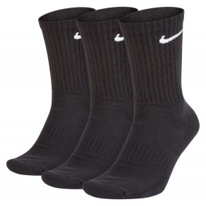 Nike Everyday Cushion Crew - 3 Pack Black-White