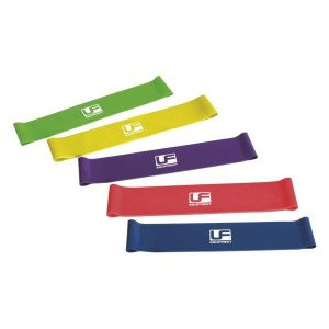 Urban-Fitness Urban Fitness Resistance Band Loop (Set of 5) 10 Inch