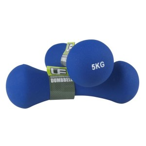 Urban-Fitness Bone Dumbbells Neoprene Covered (Pair) 5KG