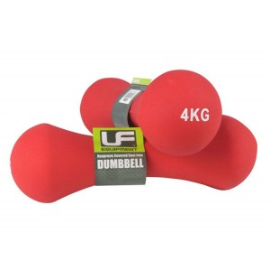 Urban-Fitness Bone Dumbbells Neoprene Covered (Pair) 4KG