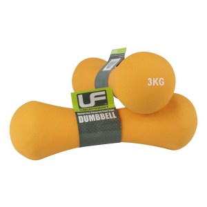 Urban-Fitness Bone Dumbbells Neoprene Covered (Pair) 3KG
