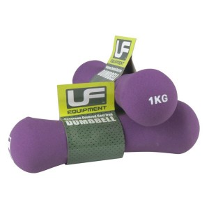 Urban-Fitness Bone Dumbbells Neoprene Covered (Pair) 1KG