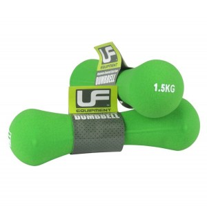 Urban-Fitness Bone Dumbbells Neoprene Covered (Pair) 1.5KG