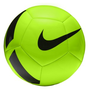 Nike PITCH TEAM TRAINING FOOTBALL Electric Green-Black