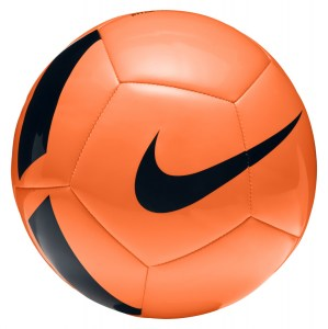 Nike PITCH TEAM TRAINING FOOTBALL Total Orange-Black