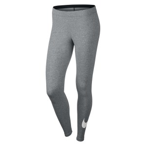 Nike Womens Sportswear Legging Dk Grey Heather-White-White