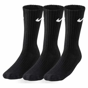 Nike 3 PACK VALUE COTTON CREW TRAINING SOCKS